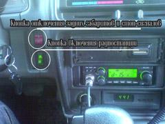 Выключатель радиостанции